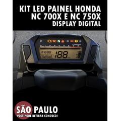 Kit Led Painel Honda Nc 700x E Nc 750x Display Digital