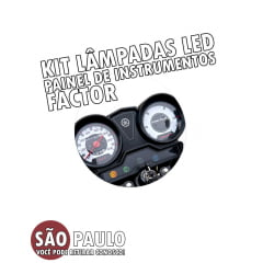 Kit Lampadas LED Painel Factor
